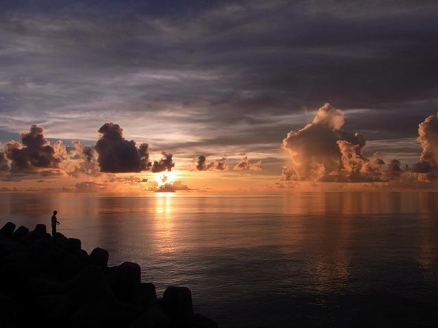 名物は夕焼け・天の川のイメージ